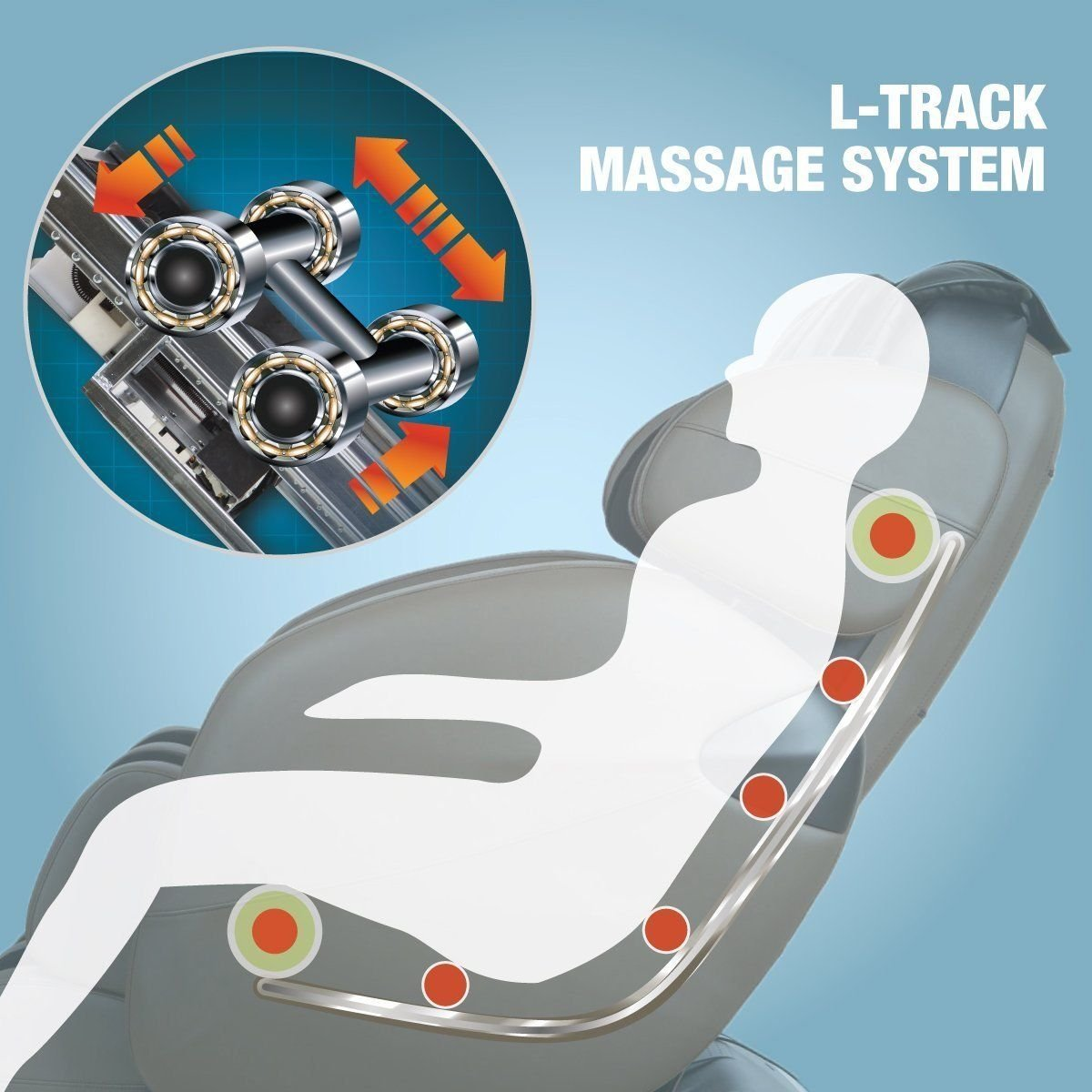 Kahuna Lm Massage Chair Review Features L Track on What Are Zero Gravity Chairs