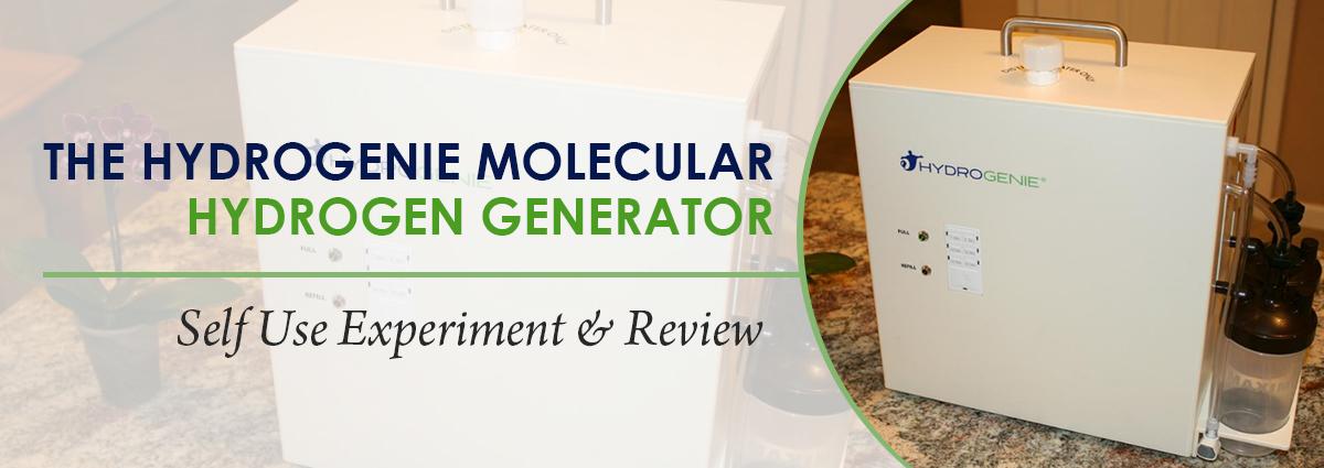 HydroGenie Molecular Hydrogen Generator